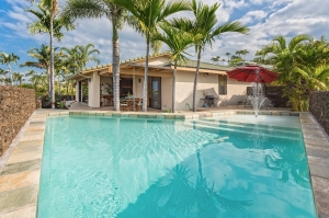 Enjoy the splendor of this modern and elegant 3 bedroom / 3.5 bath luxury home in the Keauhou Estates gated community of Kailua Kona. Call or email to schedule your private showing.